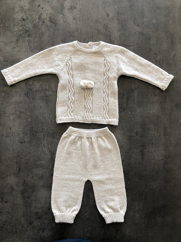 Boy / Girl knitted Trouser & Jumper Suit