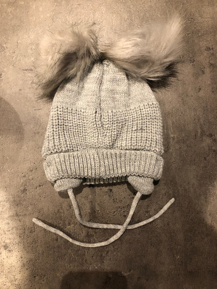 Boy / Girl Pom Pom hat with ear warmers