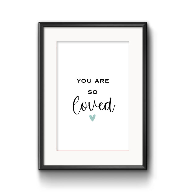 You Are So Loved - Aqua