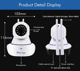 1080P HD Wireless CCTV Surveillance Baby Monitor Camera