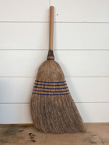 Vintage Broom with Sawed Off Handle