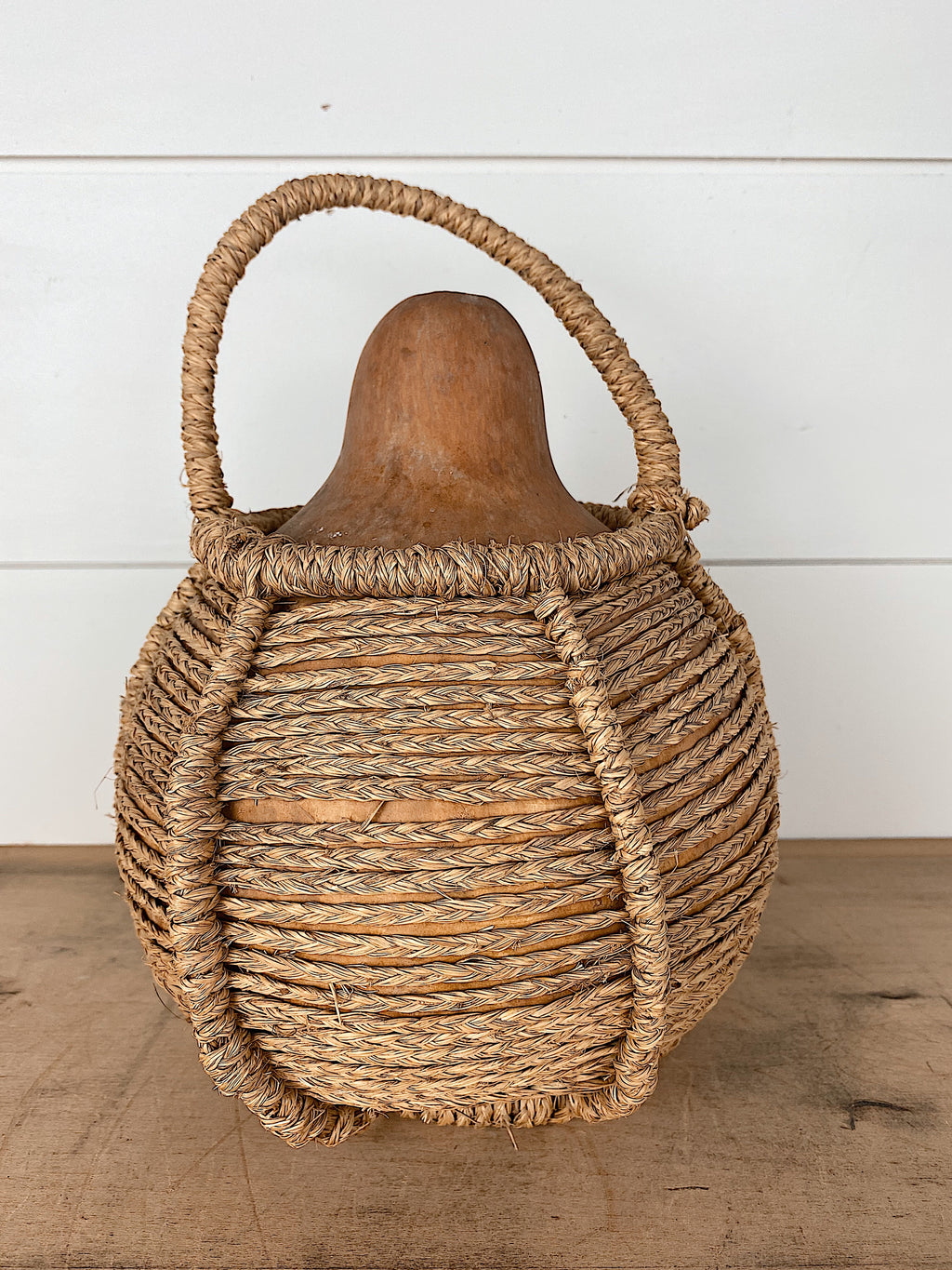 Dried Gourd in a Basket