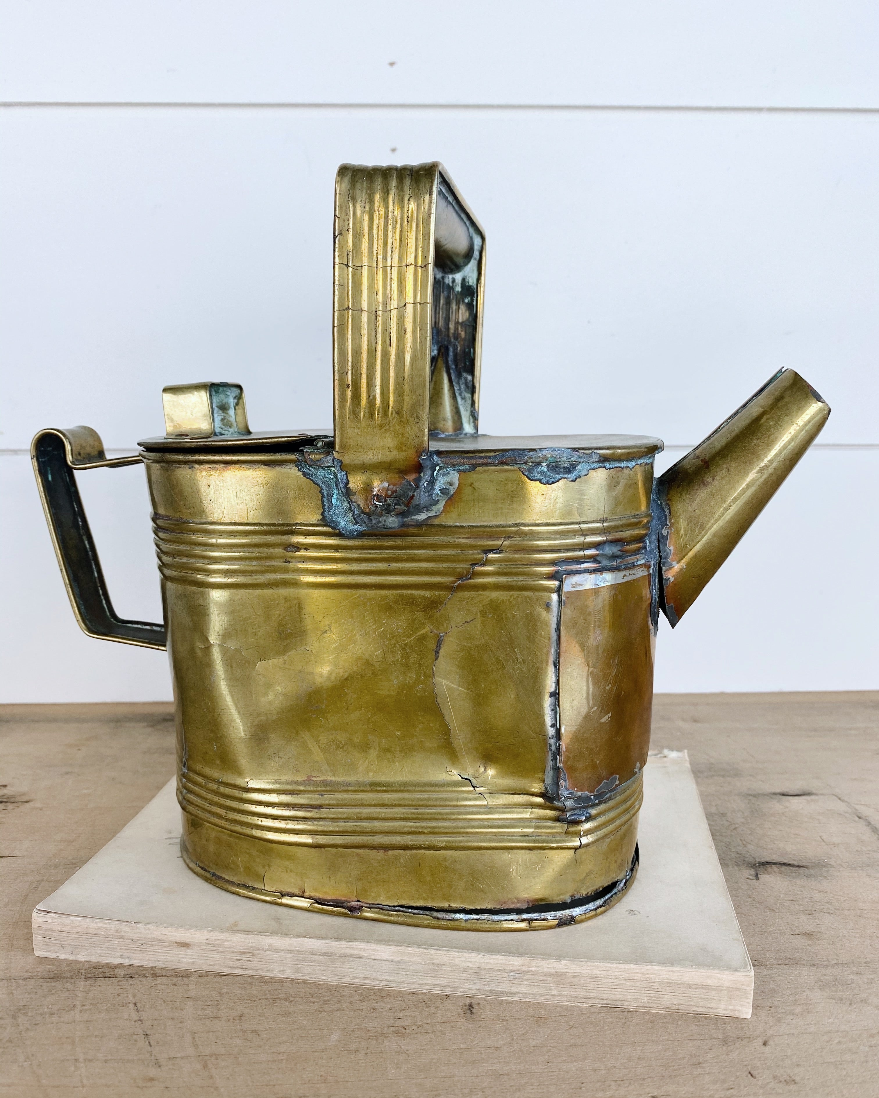Vintage Brass Kettle