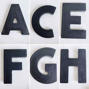 Buy One, Get One Half Off - VINTAGE PLASTIC MARQUEE LETTERS (Multiple letters and quantities available)
