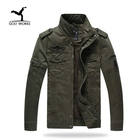 Military Plus Size Jackets