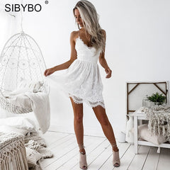 Sibybo Backless Dress