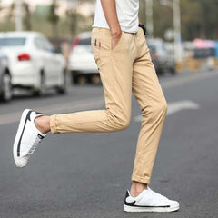Stretch Casual Cotton Pants