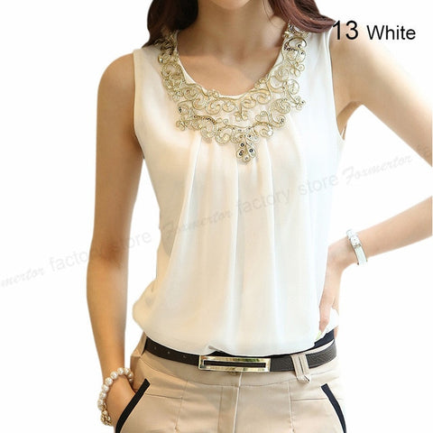 Women Sleeveless Blouse