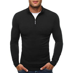 Classic Zipper Sweater