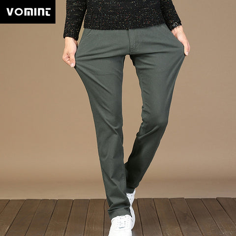 Elastic Basic Pants