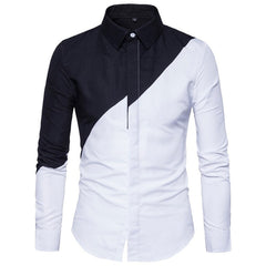 Cotton Black White Shirts Casual