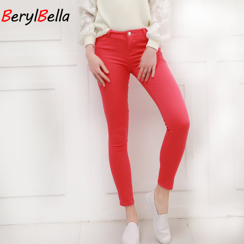 Women Pants Candy Jeans