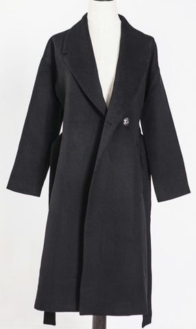 Simple Cashmere Coat