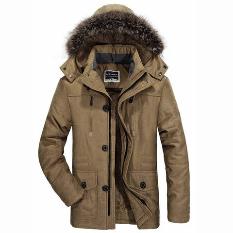 Windproof Thick Warm Coat