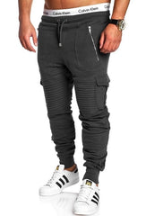 Casual Joggers Cotton Stretch Pants