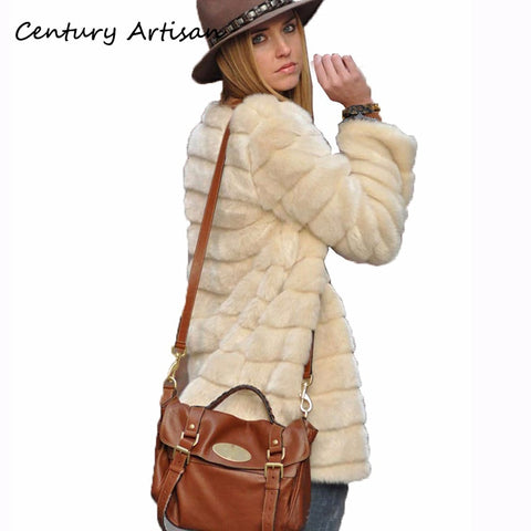 O Neck Plus Size Coat