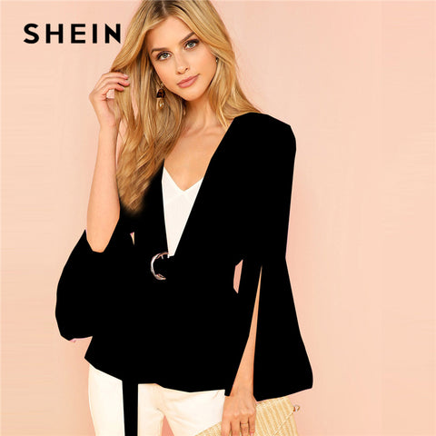 Solid Fashion Blazer