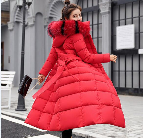 Long Fashion Cotton Coat