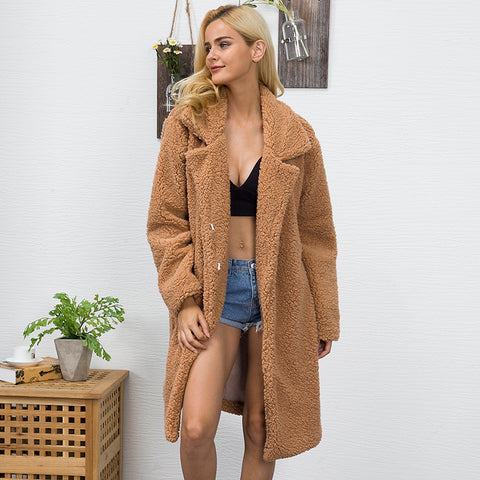 Faux Fur Teddy Coat