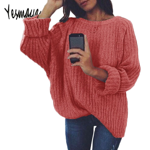 Oversize O-neck Sweater