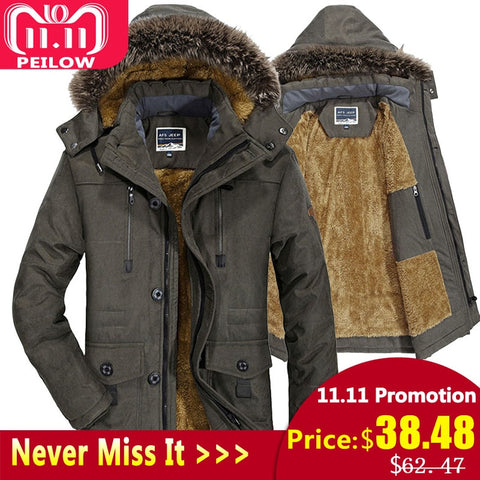 Thick Windproof Coats