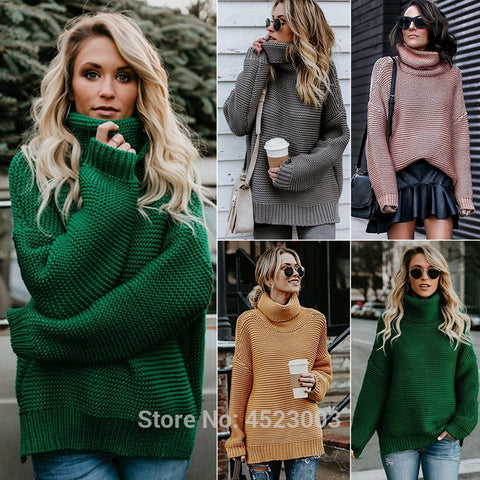 High Collar Sweaters