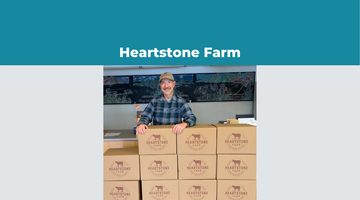 Heartstone Farm Ships 100% Grass-Fed Beef in 100% Recycled Custom Shipping Boxes