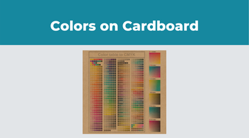 A Guide To Colors On Cardboard