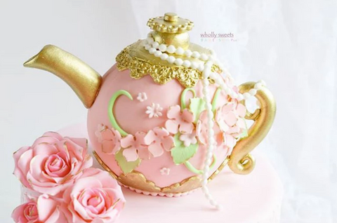 Wholly Sweets teapot cake