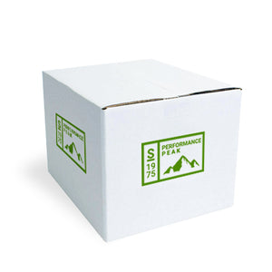 Small White Custom Shipping Box 8 x 6 x 4