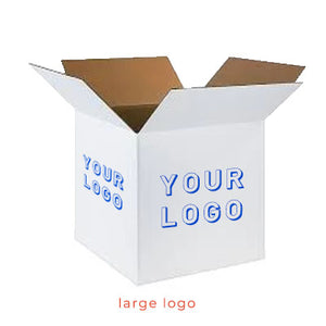Large White Custom <br> Shipping Box <br> 20 x 20 x 20 (XL)