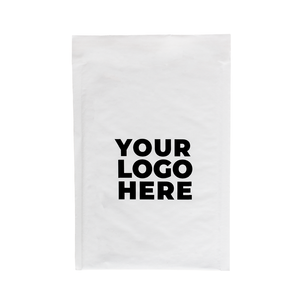 #0 Custom White Bubble Mailers 6 x 10