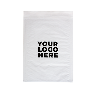 #5 Custom White Bubble Mailer 10.5 x 16