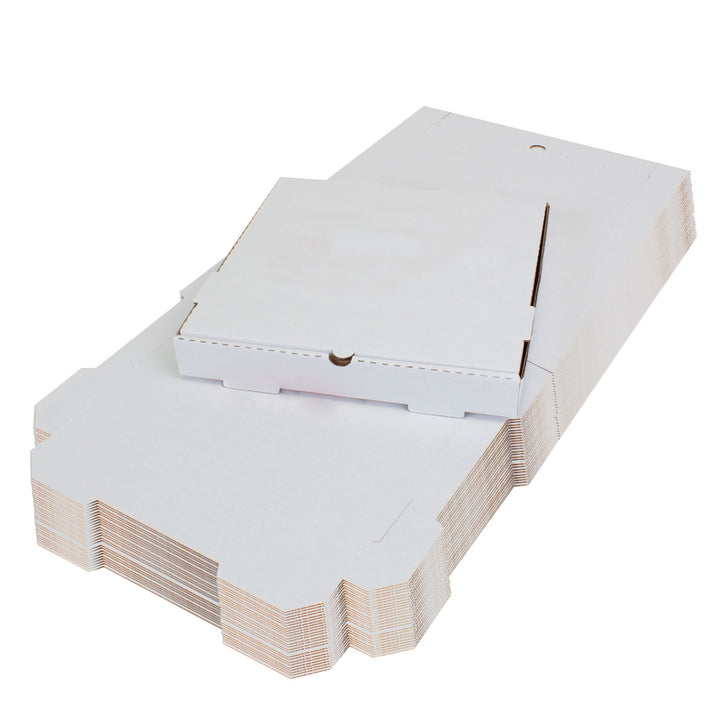 Plain White Pizza Box 12 x 12 x 2