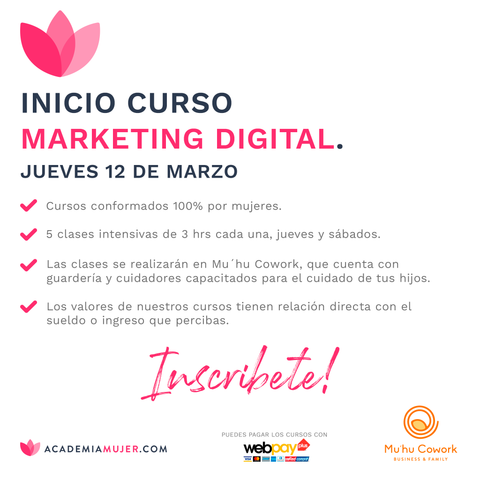 Marketing Digital con AcademiaMujer