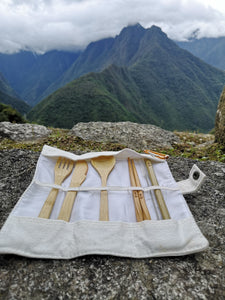 Navigating the World with a Bamboo Cutlery Set