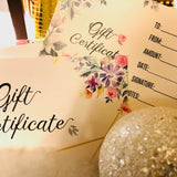 Christmas Gift Certificate, $50
