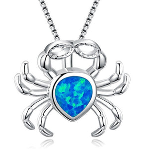 Crab Opal Necklace
