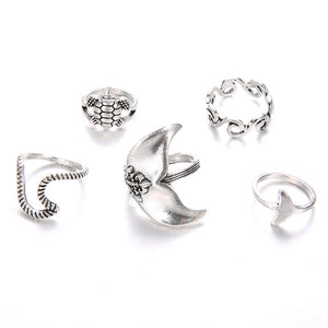 Sea Life Set of Rings