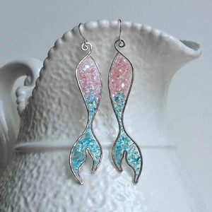 Opal Mermaid Earrring