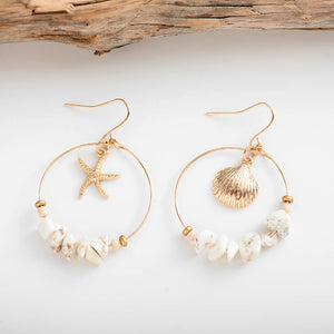 Bohemian Sea Earrings