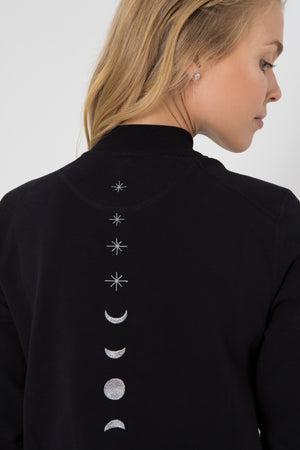 Moon & Stars Bomber Jacket