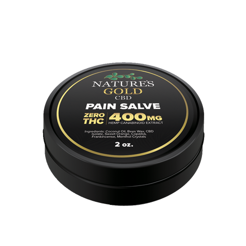 Nature's Gold 400 MG Pain Salve