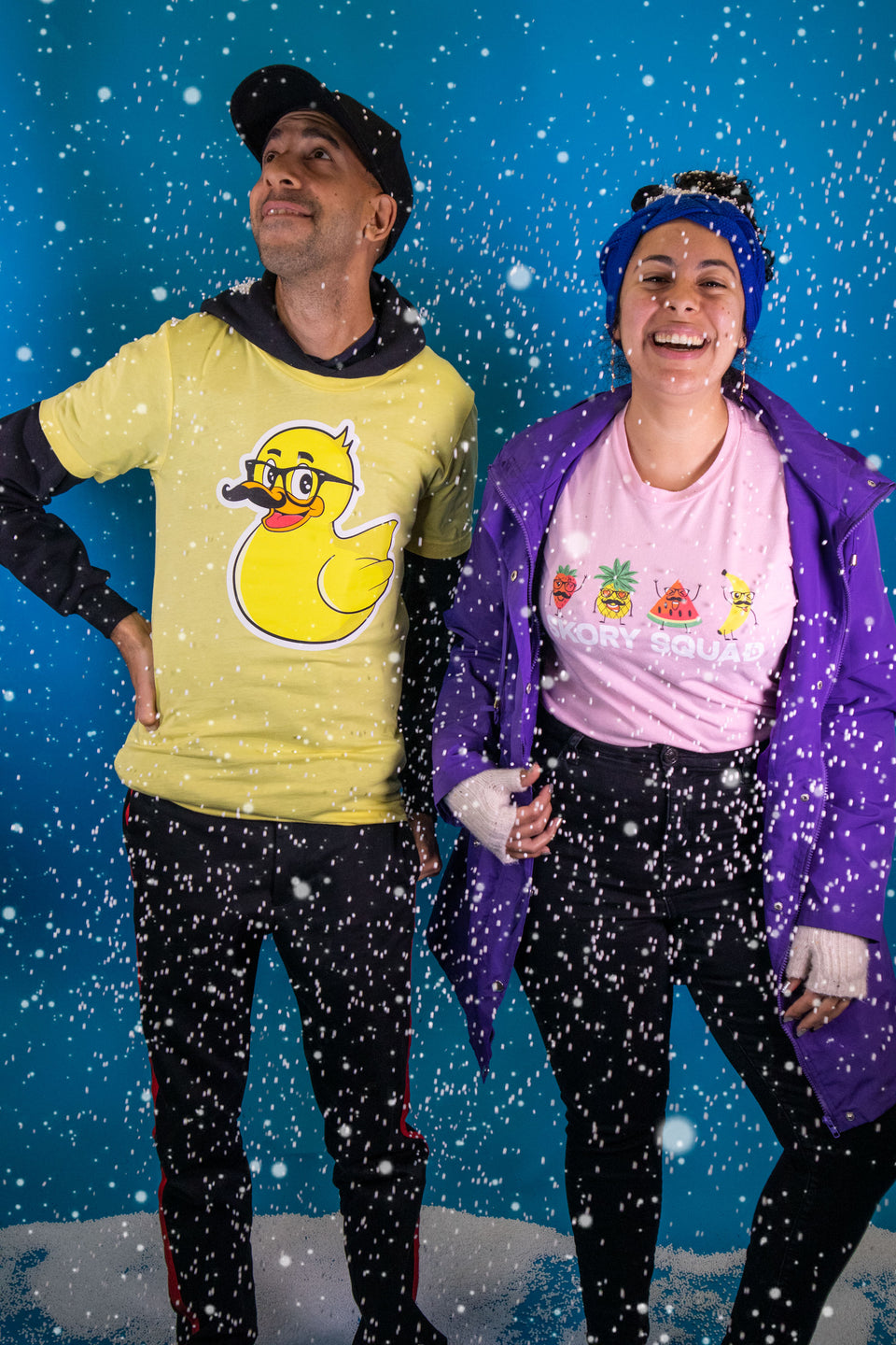 Duck T-Shirt and Fruit Squad shirts available now!