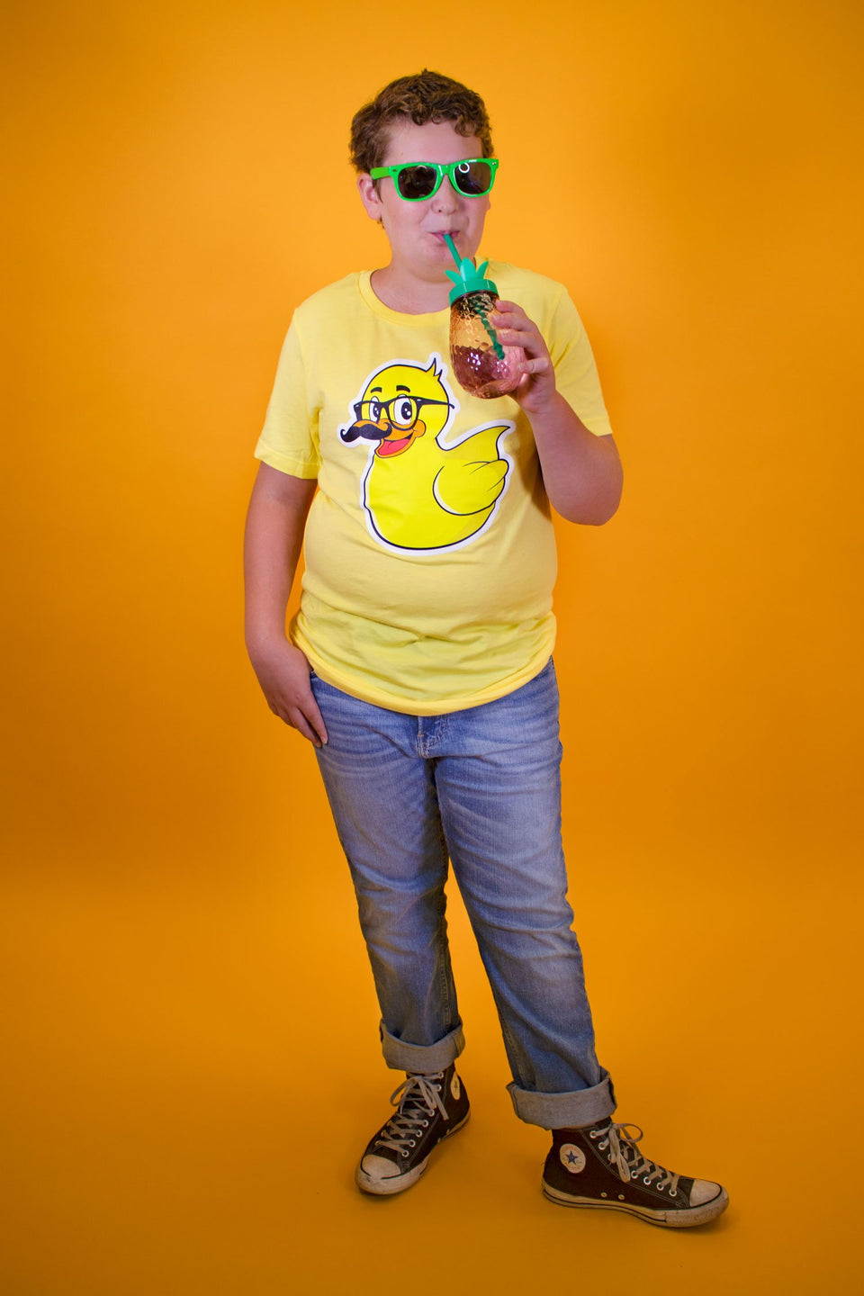 The Skorys Mustache Ducky T-Shirt