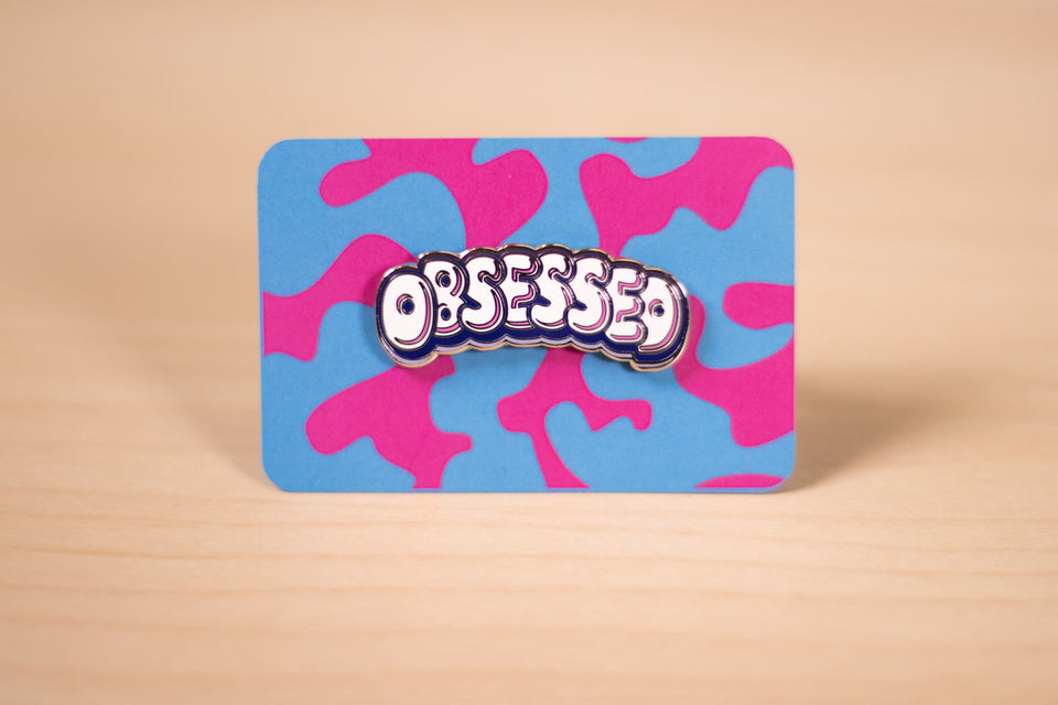 The Skorys Obsessed Pin