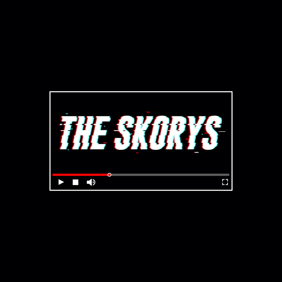 The Skorys Glitch Long Sleeve Crew