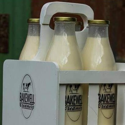 Milk Bottle Carrier (Wooden) - 2 Sizes