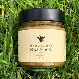 Mangawhai Manuka Honey 300gm +229mgo