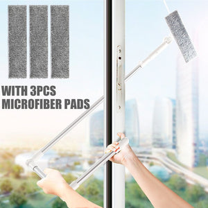 Extendable Microfiber Window Squeegee